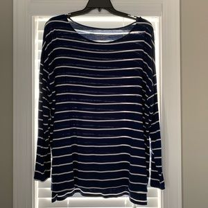 Plus ladies long sleeve top